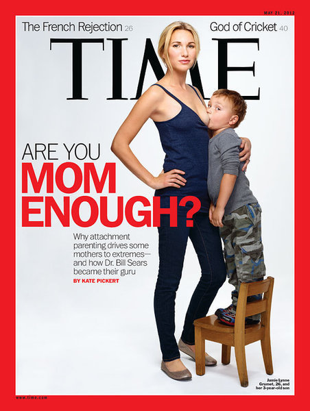 """Time Magazine Challenge: """"Are you baby enough?"""" 